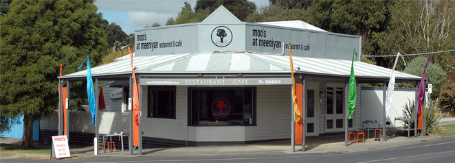 Moo's at Meeniyan, coffee, food, Gippsland