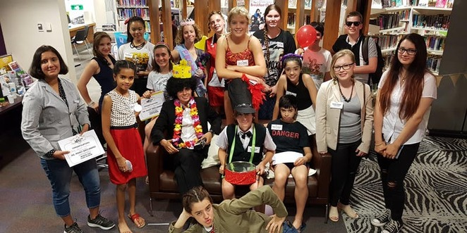 murder mystery at the library, campbelltown library, community event, fun things to do, fun for kids, school holiday activities, detective work, sleuthing skills, murder mystery night, campbelltown youth advisory committee