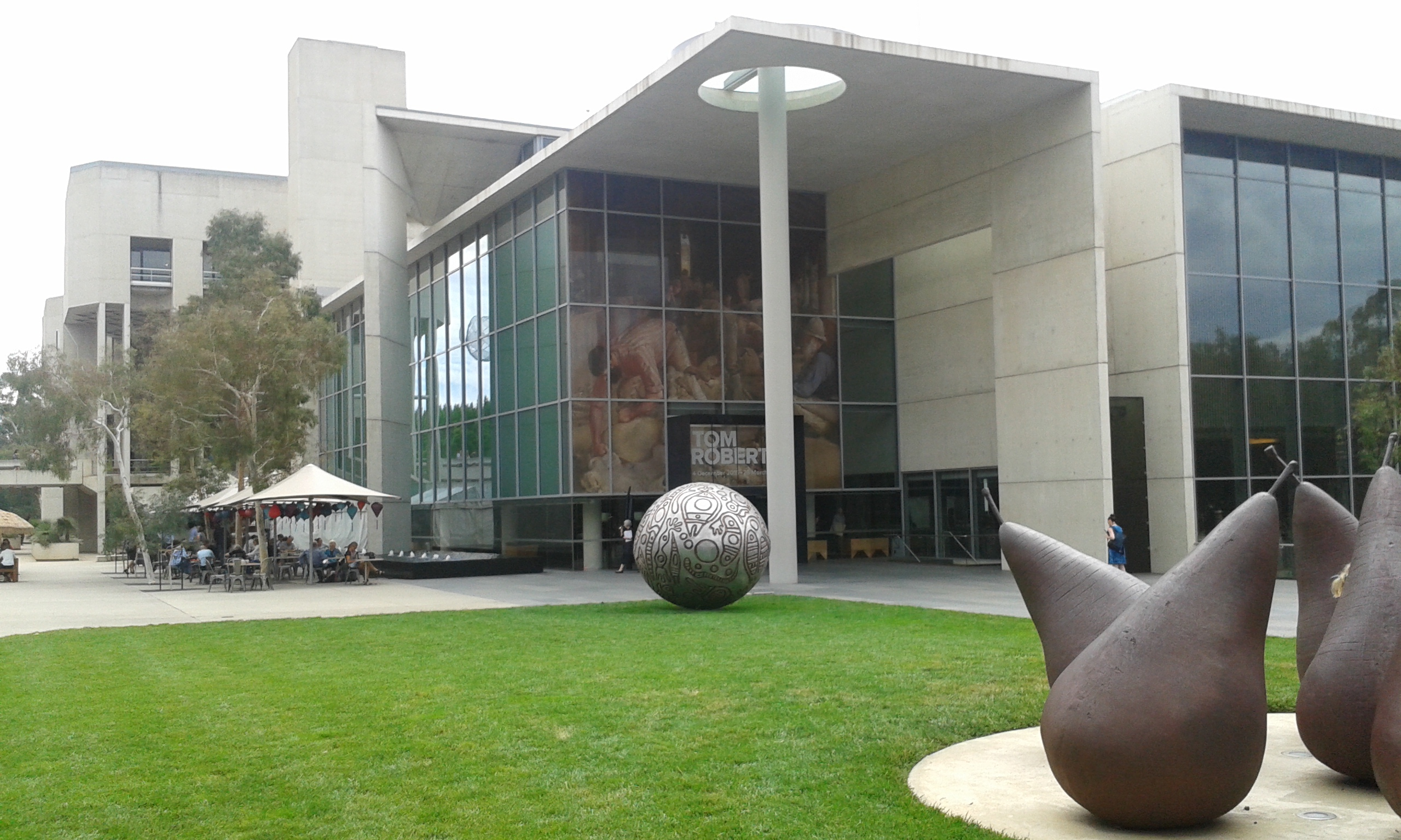 Image result for National Gallery of Australia in Canberra, Australia