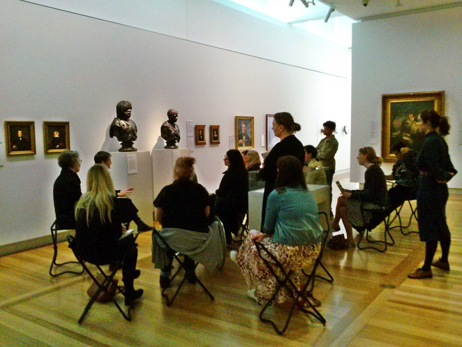 national portrait gallery, canberra, tours, ACT, australian art,