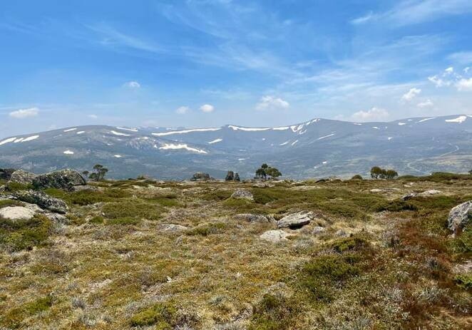 Kosciuszko National Park in the Snowy Mountains