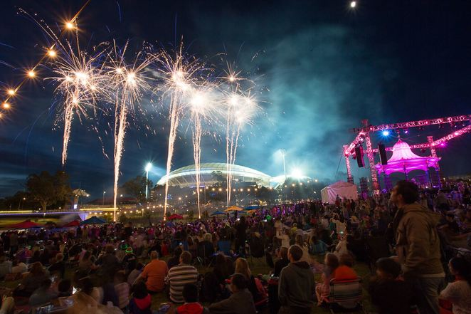 New Year's Eve, New Year's Eve Concert, free, Elder Park, Adelaide, River Torrens, free fireworks