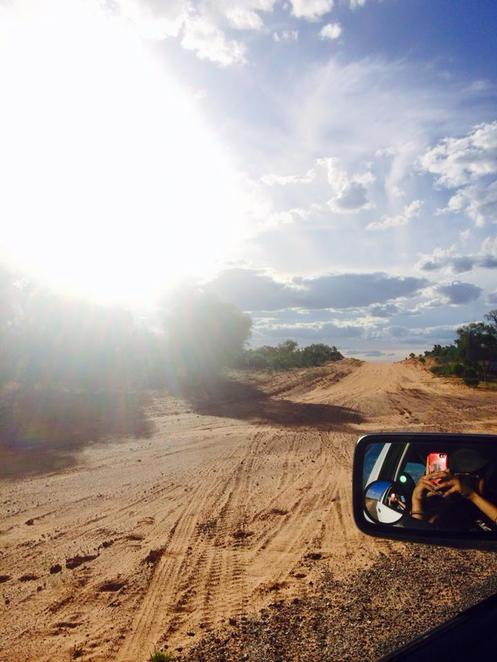 outback, nsw, great western, roadtrip, escape sydney, wilcannia to white cliffs, dirt, dush, road