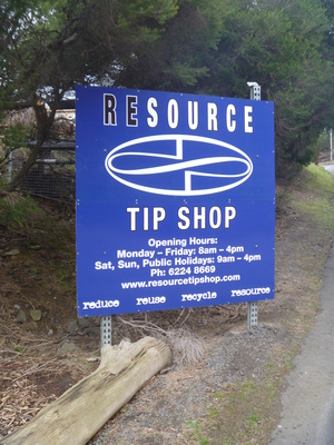 Resource Tip Shop Hobart
