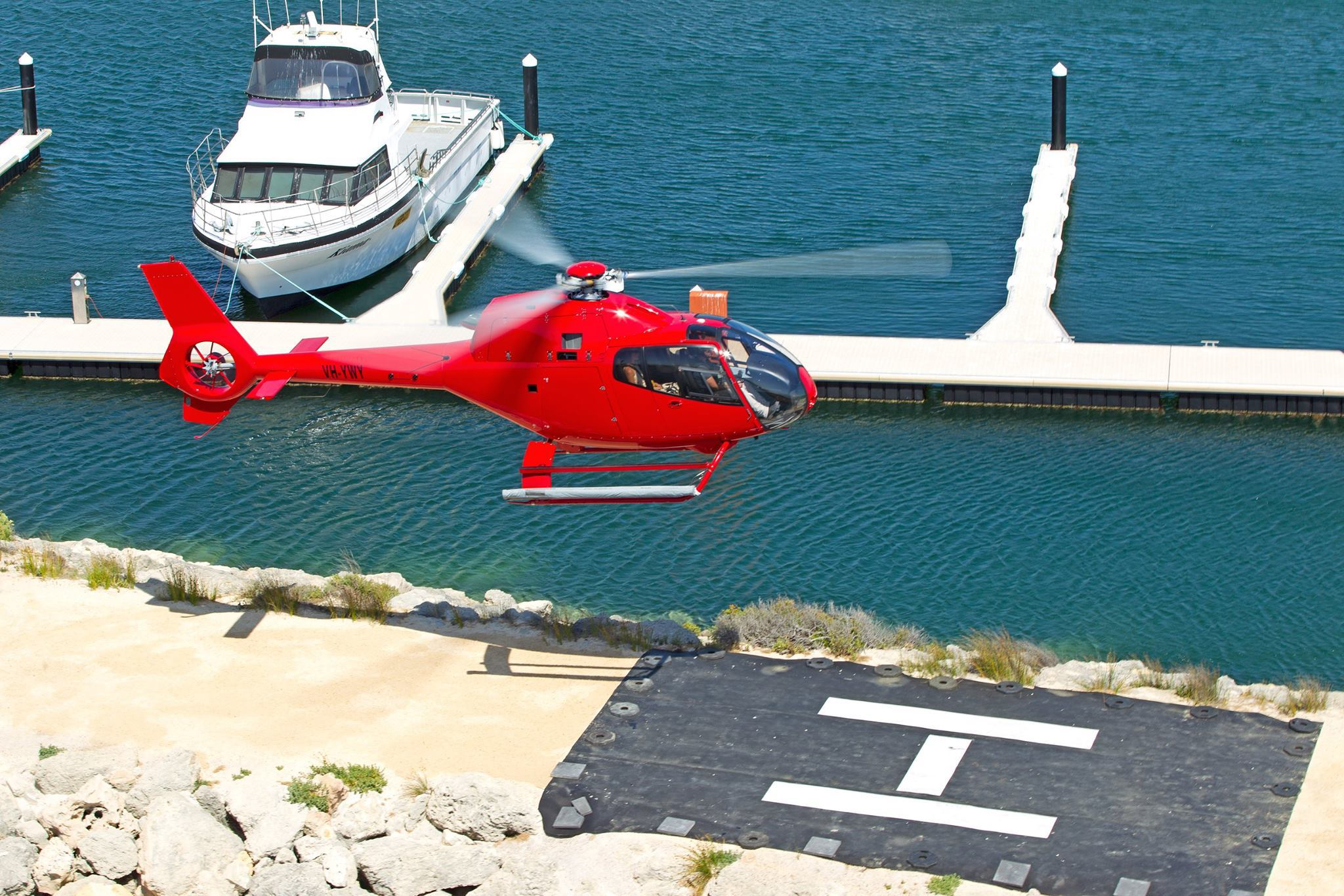 Perth helicopter rides burswood
