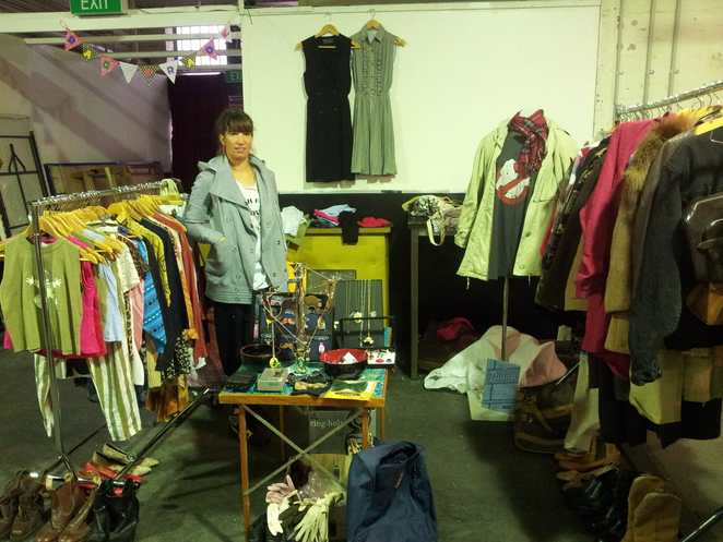 Rag Trade, market, bargain, shopping, vintage, clothes, 1000 pound bend, cafe, cheap, flea, eclectic, second hand