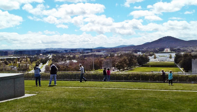 rooftop, parliament house, canberra, ACT, things to do, tourist attractions