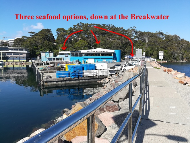 seafood restaurants, nelson bay, nelson bay breakwater, things to do in nelson bay, restaurants, fish and chips, NSW, port stephens, fish shops, prawns,