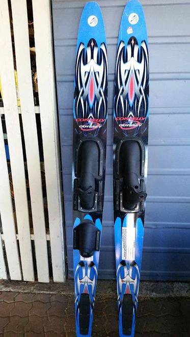 Skis, second hand, man cave