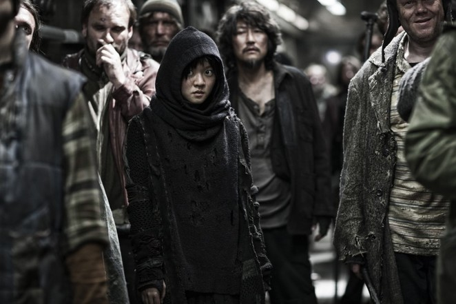 snowpiercer, cinema nova, chris evans, john hurt, movie review, film review, movie, science fiction, sci-fi,