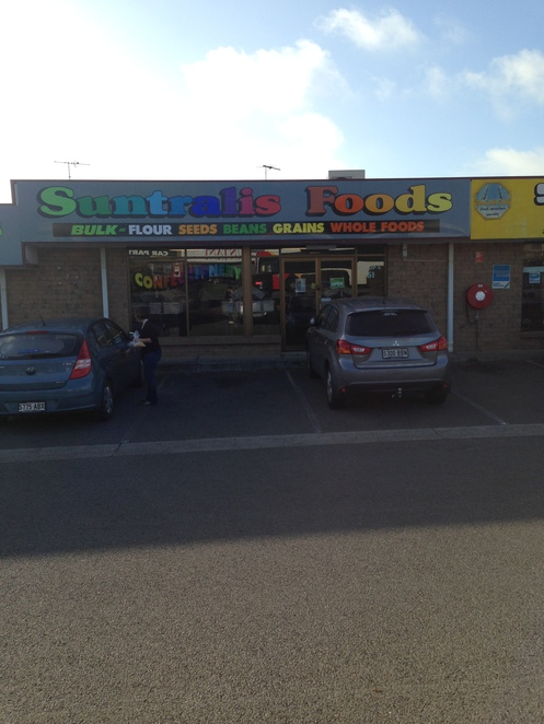 Suntralis foods, bulk foods and confectionery, candy shops in Adelaide