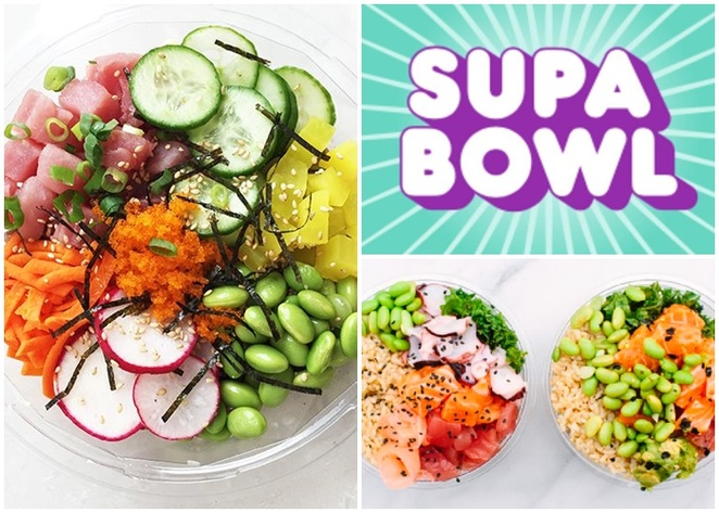 supa bowl, canberra, poke bowls, ACT, healthy takeaway, canberra city, hawaiin, poke, takeaway, lunch, dinner, healthy,