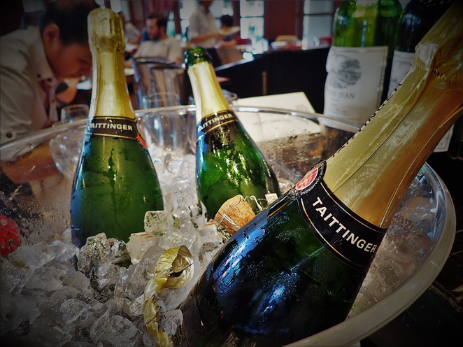 taittinger champagne at Kwee Zeen Magnifique Sunday Champagne Brunch in Sofitel Singapore Sentosa Resort & Spa