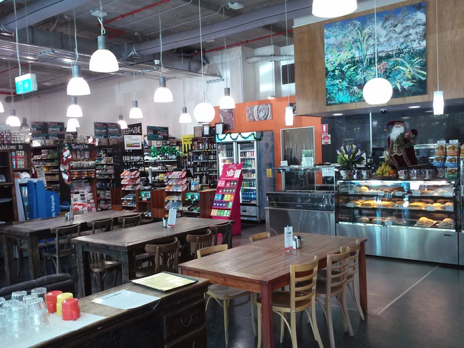 twenty one cafe and groceries, new acton precinct, canberra, ACT, cafes, breakfast, lunch, supermarket,