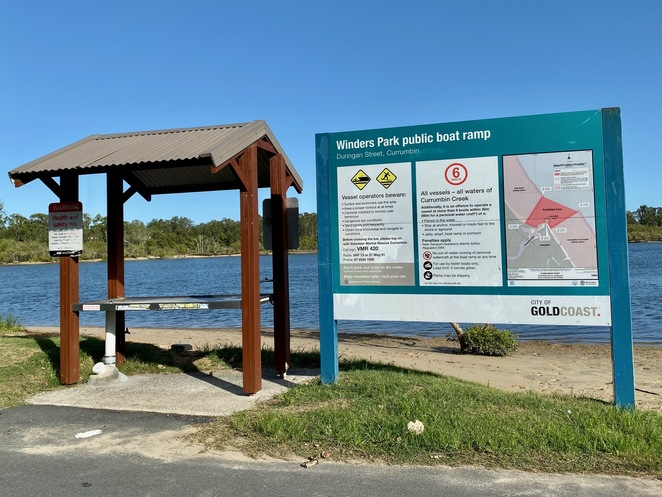 Winders Park has a boat ramp for motorised craft and fish gutting facilities
