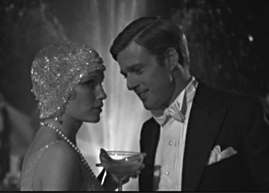 Robert Redford as Gatsby with Mia Farrow as Daisy
