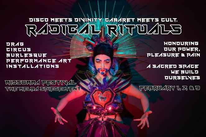 midsumma festival 2019, community event, fun things to do, queer festival melbourne, free entry, queer carnival, minus18, entertainment, nightlife, date night lgbtqai, cabaret, burlesque, performances, live shows, queer arts and culture festival, cultural festival, artists, diverse festival program, artists, jane doe, amao leota lu, wade tuck, photographer alexis desauljiers-lea, matto lucas