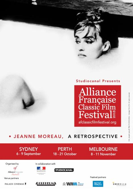 Alliance Française Classic Film Festival 2018, community event, fun things to do, cinema, foreign films, sub titled films, palace cinemas, cultural event, french films, actors, actresses, performing arts, movie buffs, date night, nightlife, film lovers, film festival, jeanne moreau features, studio canal, orpheum cremorne, wa maritime museum