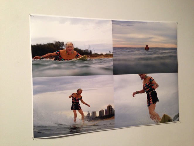 Art, galleries, surfing exhibition, Gold Coast art centre, art on the Gold Coast