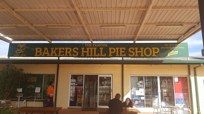 Bakers Hill Pie shop, Bakers Hill, Perth, Mundaring, Western Australia, pie shop, bakery, baked goods, sausage rolls and pies, quality food, tasty food, high quality food