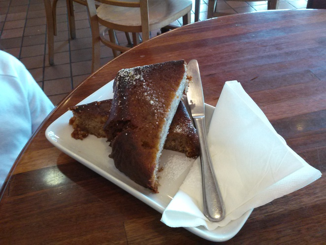 Raspberry and Pear Bread, Hansel and Gretal Cafe, Phillip, Woden, Canberra, ACT