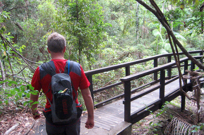 The start of the walk is easy, but becomes steeper later