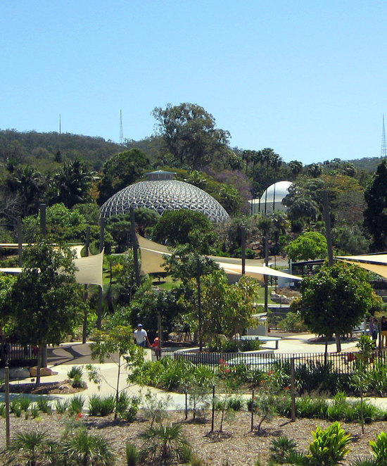 Brisbane Botanic Gardens has a great number of attractions