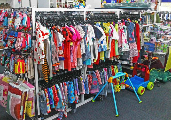 childrens clothes.