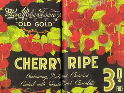chocolates, MacRobertson, Cherry Ripe, Walking tour
