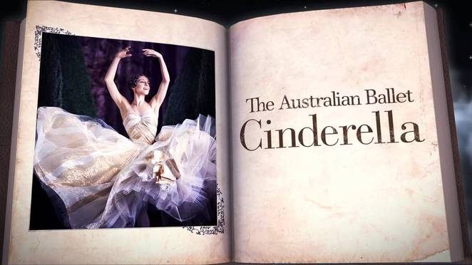 Cinderella once upon a time Australian Ballet