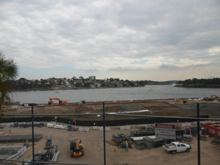 clyne reserve barangaroo millers point view construction