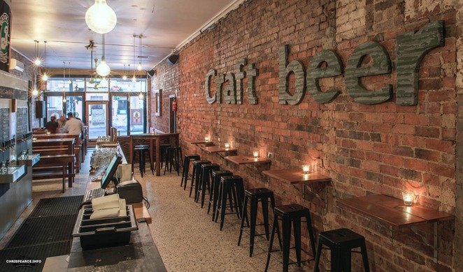 craft beer, bar, pub, the alehouse project