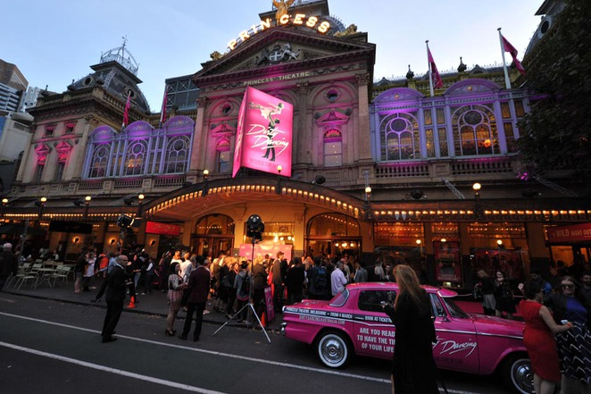 dirty dancing opening night melbourne