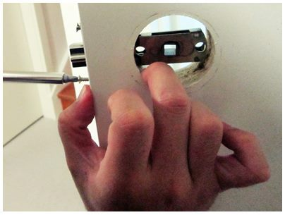 DIY, how to install door lock,