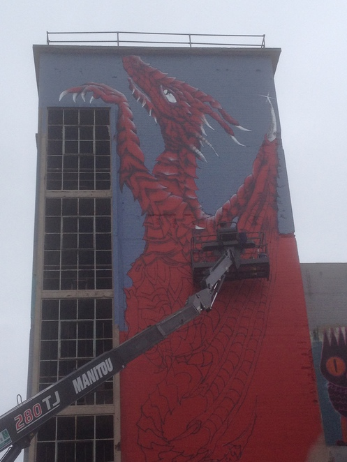A Dragon on the Wall, The Powerhouse