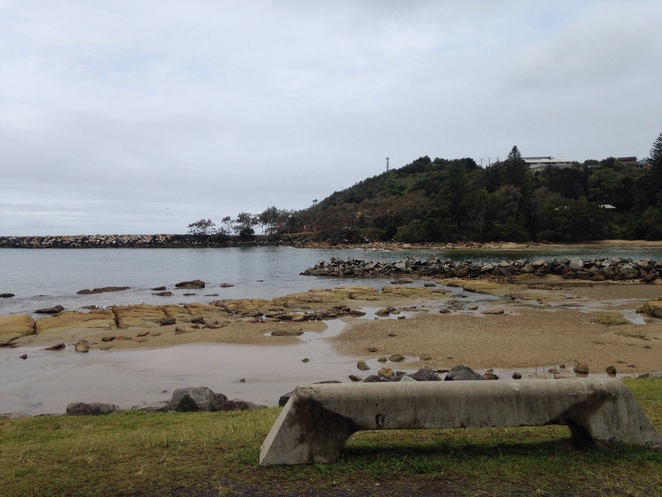 Evans Head, NSW, beach, natural pools