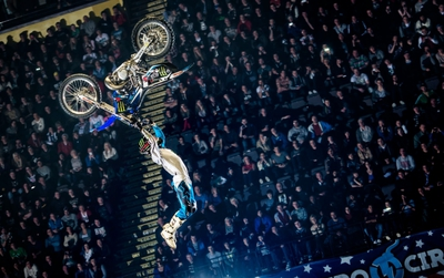 Excuse me while I kiss the sky/Image from nitrocircuslive.com