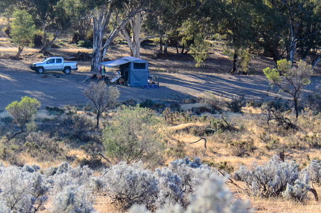 Flinders ranges, camping, mountain bike