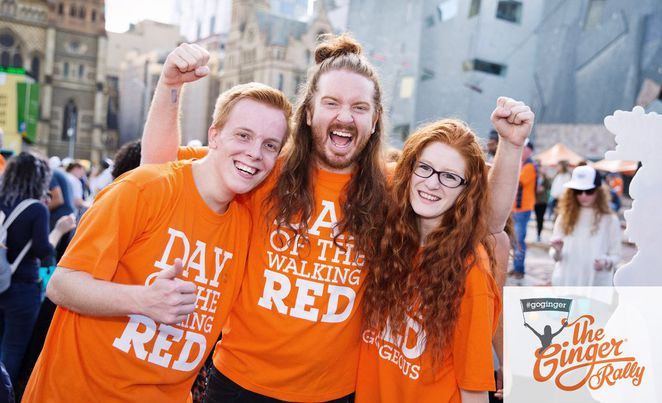 Ginger Pride Rally