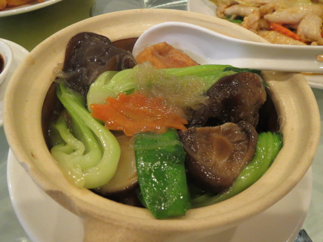 Hanson Palace Restaurant, Mix Vegetable with Vermicelli Hot Pot, Adelaide