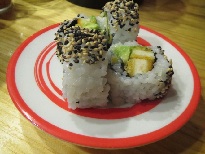 Katana Sushi Train, Karaage Chicken Roll, Adelaide