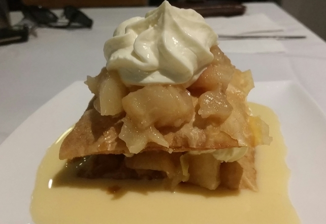 Mille feuille, pear, pastry, French pastry