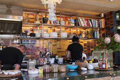 mocan and green grout, open kitchen, breakfast bar, canberra coffee, canberra breakfast spots, canberra cafes