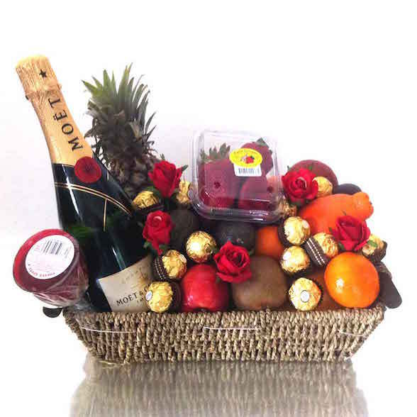 Melbourne christmas hampers fruit basket fruit hampers free baskets towers and buckets are perfect for sharing this festive season as they are filled to the brim with a delightful selection of seasonal fruits negle Choice Image