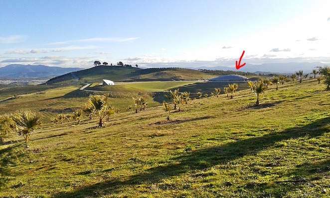 national arboretum, canberra, sprout cafe, ACT, tourist attractions, views, lookouts,