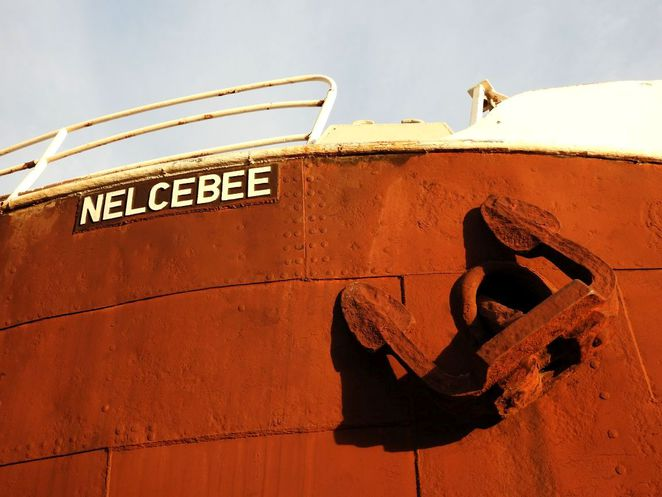Nelcebee, South Australian Maritime Museum, Maritime Museum, south australia, steamship, ship, port adelaide, steam powered, saving nellie, anchor