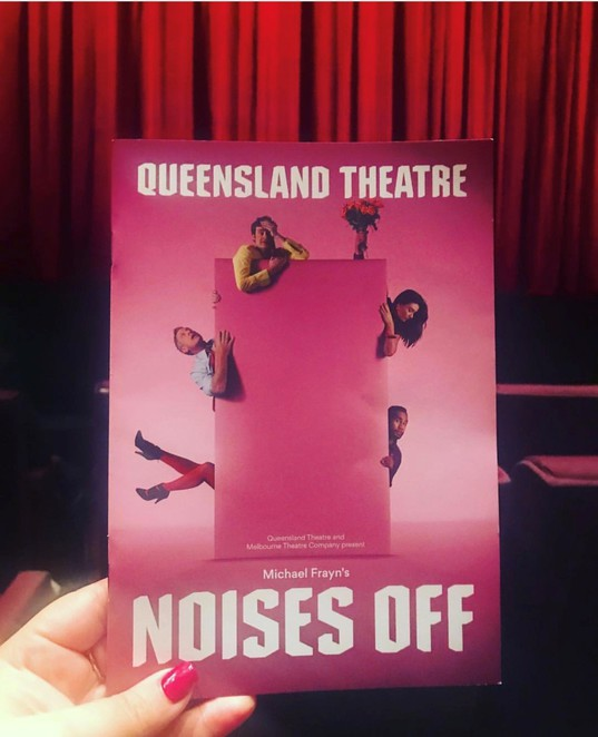 Noises Off , queensland theatre, melbourne theatre company, nothing on