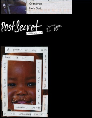 postsecret, frank warren, sunday secrets