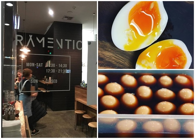 Ramentic, braddon, canberra, lonsdale street, soft boiled eggs, marinated in soy sauce, ACT, best ramen in canberra, best ramen, canberra city, soup, asian restaurants,
