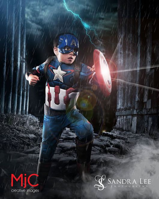 Real Life Superheroes - Captain America